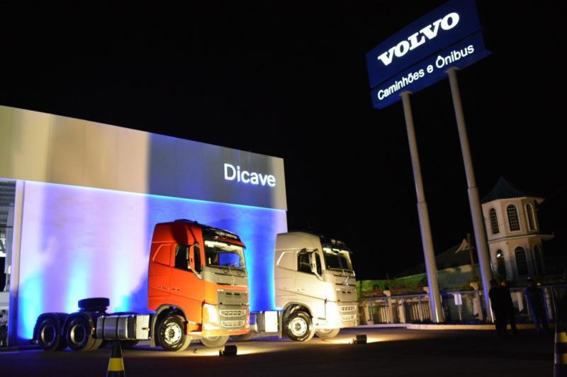 Dicave inaugura filial da concessionária Volvo em São Miguel do Oeste