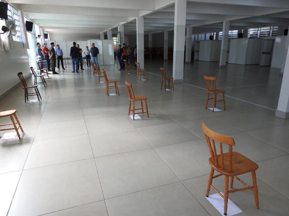 Comitê vistoria local para instalação de Centro de Triagem em São Miguel do Oeste