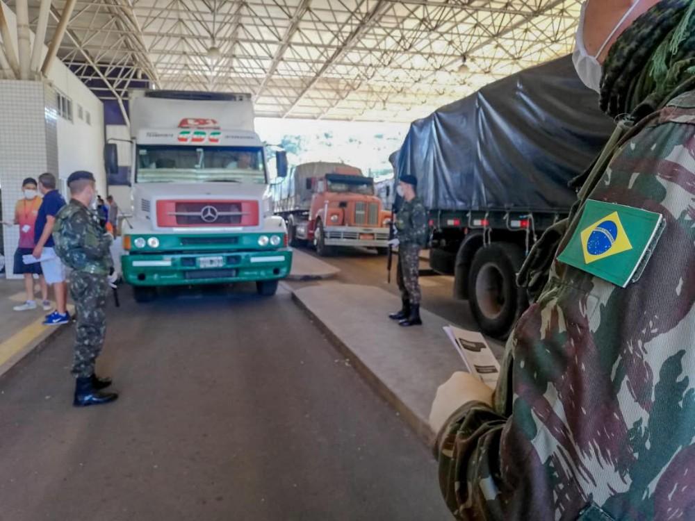 Exército fiscaliza fronteiras em combate ao coronavírus no Extremo-Oeste