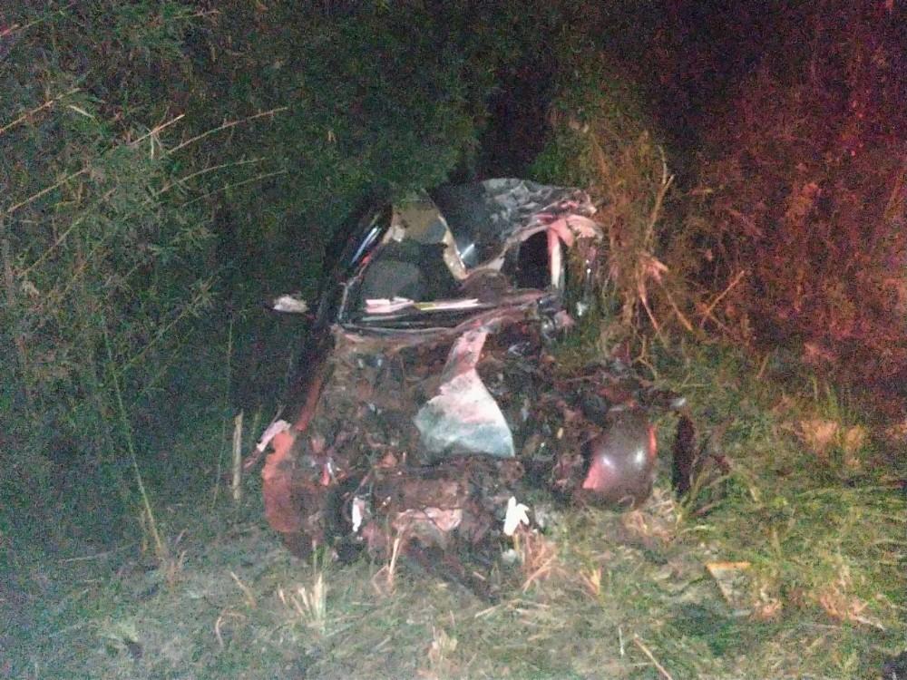 Jovem morre em colisão frontal na BR-282 em Nova Itaberaba
