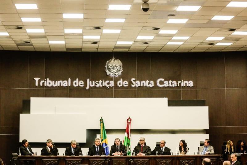 Ministro Dias Toffoli visita o TJSC em passagem por Florianópolis