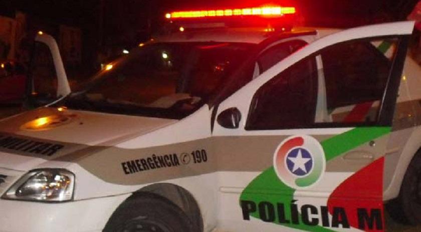 O caso foi registrado por volta das 19h30 de domingo (6), no Bairro São Domingos