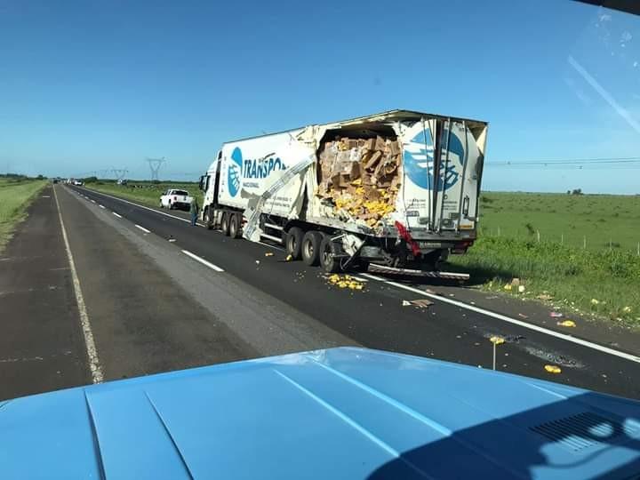 Quatro pessoas morrem em gravíssimo acidente entre carreta de transportadora de Concórdia e ônibus na Argentina