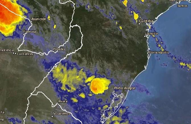 Defesa civil alerta para risco de temporal no Oeste de SC