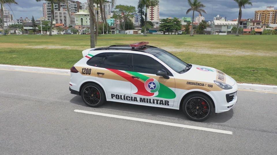 Santa Catarina tem a viatura mais rápida do Brasil, apreendida do tráfico