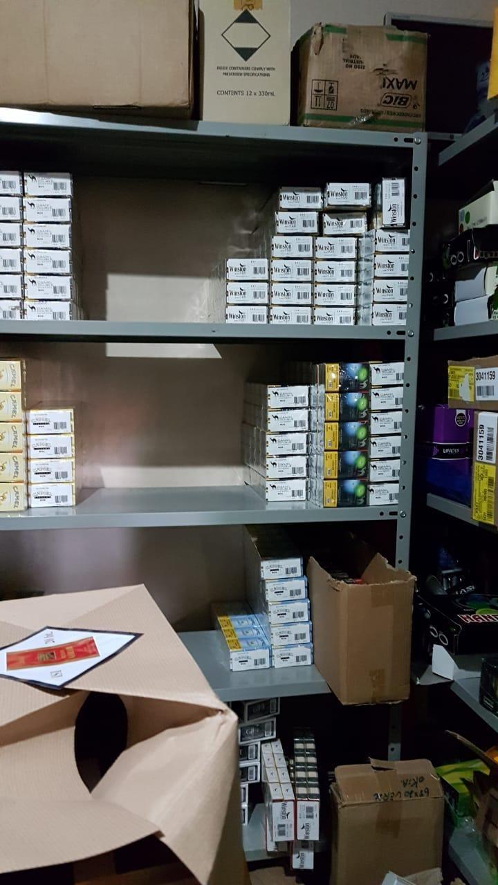 Polícia Federal desarticula esquema de descaminho de papel seda na região