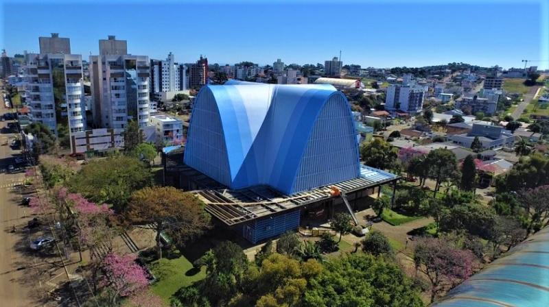 Paróquia já arrecadou mais de R$ 400 mil para reforma da Igreja Matriz em São Miguel do Oeste